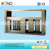 ISO aluminum wooden door and window frame design
