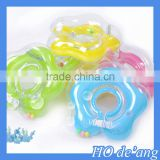HOGIFT Baby swimming ring, 9.5cm flower-shaped medium swim collar,pvc swimming pool swim ring