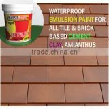 Waterproof Paint for Roof Ceramic, Clay, Cement Tile & Brick JOTILEX