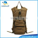 Outdoor camping camouflage tactical military waterbag backpack