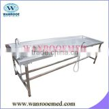 GA203 with a built stainless steel sink Morgue Table