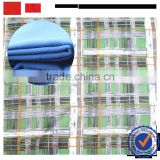 china cheap plain dyed polyester fabric / low price african fabrics wool like polyester blended fabric for winter jacket