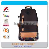 polyester xf OEM travel backpack name brand travel bags