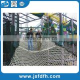 Direct manufacturer of PP/PE/PET Polyester material outdoor safety netting safety net for fall protection