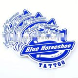 Waterproof Feature label hand tattoo sticker and Bottle or any other container Usage roll adhesive sticker ---DH20438