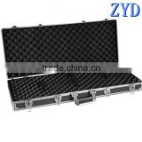 Military rifle case, aluminum military tool bag, hunting gun box manufacturer (ZYD-QX8407)
