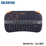 GLEESE 2.4G RF Rii i8+ Wireless mini laptop Keyboard with Touch Pad Backlit gaming Keyboard wireless