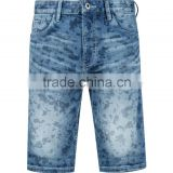 adults age group men camouflage boy denim half pants short pants jeans shorts