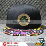 Custom fedora plain diy metal plate short brim pokemon snapbacks hats caps with floral brim                                                                                         Most Popular
