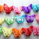 party garland paper decoration tissue bear honeycomb paper garland