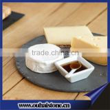 Black stone plate dinning plate set cheese board stone wholesale