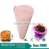 News 2016 Artificial flowers double sided crepe paper roll