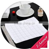 hot selling cheap cotton fabric white hand towel for hotel