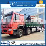 Manual Transmission Type and Diesel Engine emission standard Euro IV howo 8x4 Lorry-mounted crane heavy goods Chinese Supplier