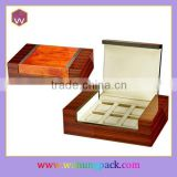 Unique Personalized Wood Watch Winder Box & 6pcs Watches Presentation Box(WH-1034)