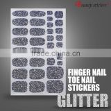 Custom Gradient Glitter Texture Series Nail Sticker Nail Art Nail Stickers
