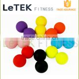Muscle Roller Ball :Silicone Massage Balls for Deep Tissue, Myofascial Release : Premium Quality Lacrosse Style Rubber Balls