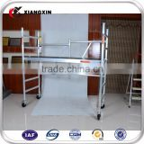 high quality mobile Aluminum scaffolding type and name