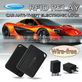 Smart Car Safety System of RFID Relays