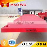 MAOWO 20ft container low flat bed trailer dimensions