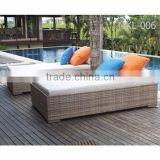 Hotel Furniture Sun Lounger - Wicker Rattan swimming pool chair - Outdoor Furniture Daybed - Classic Rattan Sun Lounger