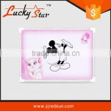 2015 red sun lucky star wholesale kids white drawing board educational wooden alphabet puzzle toy for preschool