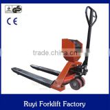 taizhou factory sale best price hand pallet truck scale