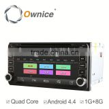 Ownice C180 Android system car dvd player for Toyota Universal Prado support GPS Ipod DVR digital TV 3G Wifi