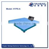 HYPS10t weighing indicator with kennel flooring bench scale wheel balance measuring instrument