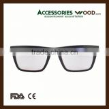 2016 beautiful natural wood reading glasses for selection