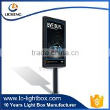 FACTORY PRICE Advertising hanging double sided led backlit light box