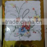 Embroidered bedding set/bedding sheet/embroidred pillowcase 3pcs for Africa market