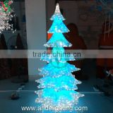 Eid Outdoor acrylic motif tree light LED Xmas light decorations, artificial cherry blossom tree