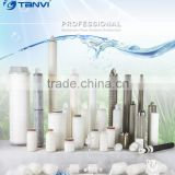 High quality Excellent Efficiency Industrial Pleated 40 inch 5 micron pp yarn filter cartridge