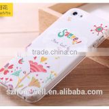 alibaba smart phone cases cover with coloured printing pattern for apple iphone 5S
