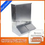 high quality custom zinc plating pig feeder