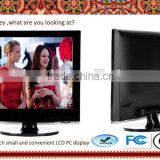 1024*768 high resolution HD lcd PC screen /display cheap 15''/15inch desktop TFT lcd computer monitor