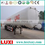 China Supplier storage tank semi-trailer lng tank for vehicle