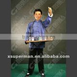 Customized ancient chineses figure fiber glass wax sculptures