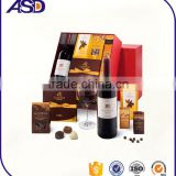 Recycled Materials Feature and Beverage Industrial Use paper gift box for wine /wine packaging boxes