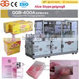 Automatic Cosmetic Cellophane Packaging Machine Tea Box Cellophane Packing Machine Cellophane Bag Machine Price