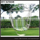 Green Color Swing Hammock Hanging Outdoor Chair Garden Yard Fishing