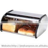 food grade stainless steel bread bin cupcake bin