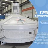 Professional Universal Mpc750L Low Cost Spiral Electric Vertical Planetary Shaft Concrete Mixer Machine For Sale