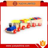 small size 3 parts assembling train toys