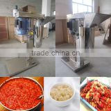 Good selling chilli paste grinding machine/ginger paste making machine supply from Henan
