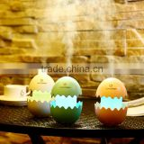 Mini Egg Shape Humidifier With USB Charge, Air Fresh Purifier Control by Tourch Switch For Office