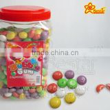 Small Round Beans Fruity Flavour Bubble Gum
