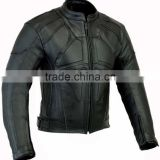 Fine Quality Men's Motorbike Leather Jacket