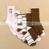 2015 Cute and FASHON Cotton Baby Socks Embroidered Design for Wholesale(1423602)